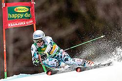 04.03.2017, Podkoren, Kranjska Gora, SLO, FIS Weltcup Ski Alpin, Kranjska Gora, Riesenslalom, Herren, 1. Lauf, im Bild Christoph Noesig (AUT) // Christoph Noesig of Austria in action during his 1st run of men's Giant Slalom of FIS ski alpine world cup at the Podkoren in Kranjska Gora, Slovenia on 2017/03/04. EXPA Pictures © 2017, PhotoCredit: EXPA/ Johann Groder