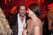 LARS BENNIGSEN; KATIE BAIN, IMG HERALD TRIBUNE HERITAGE LUXURY PARTY.- Celebration of Heritage Luxury and 10 years of the International Herald Tribune Luxury Conferences. North Audley St. London. 9 November 2010. -DO NOT ARCHIVE-© Copyright Photograph by Dafydd Jones. 248 Clapham Rd. London SW9 0PZ. Tel 0207 820 0771. www.dafjones.com.