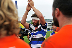 Dave Attwood of Bath Rugby - Photo mandatory by-line: Patrick Khachfe/JMP - Mobile: 07966 386802 20/09/2014 - SPORT - RUGBY UNION - Bath - The Recreation Ground - Bath Rugby v Leicester Tigers - Aviva Premiership
