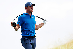 June 24, 2018 - Cromwell, CT, U.S. - CROMWELL, CT - JUNE 24: Rory McIlroy of Northern Ireland bends his driver in reaction to his tee shot on 4 during the Final Round of the Travelers Championship on June 24, 2018 at TPC River Highlands in Cromwell, Connecticut. (Photo by Fred Kfoury III/Icon Sportswire) (Credit Image: © Fred Kfoury Iii/Icon SMI via ZUMA Press)