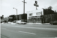 1975 Paris House Nude Parlor on Santa Monica Blvd.