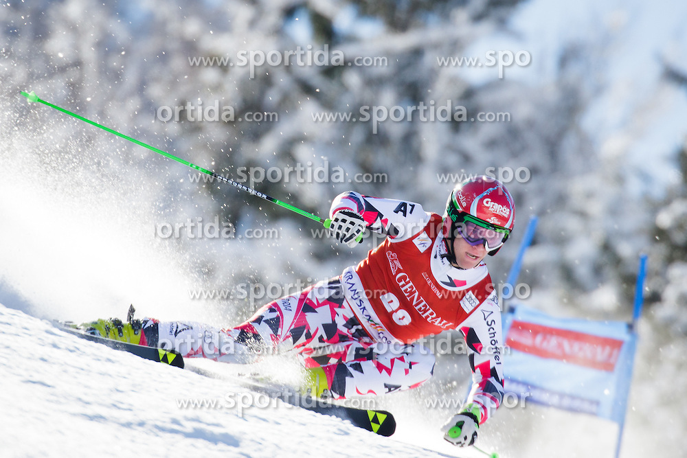 Roland Leitinger (AUT) competes in 1st Run during Men Giant Slalom race of FIS Alpine Ski World Cup 55th Vitranc Cup 2015, on March 4, 2016 in Kranjska Gora, Slovenia. Photo by Ziga Zupan / Sportida