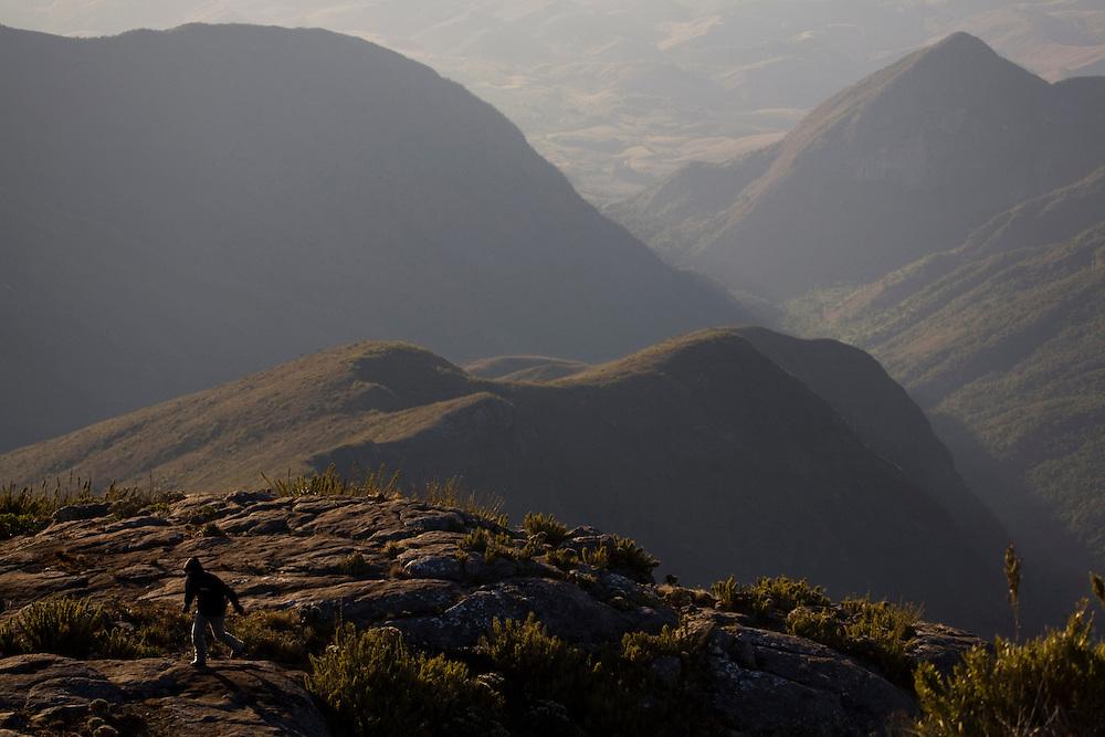 Alto Caparao_MG, Brasil...Pico da Bandeira, no Parque Nacional Serra do Caparao...The Pico da Bandeira at National Park Serra do Caparao...Foto: LEO DRUMOND /  NITRO