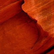 Slot canyon in the AZ desert.