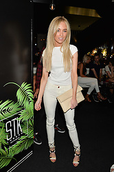 NICOLA HUGHES at the STK Ibiza Pe-Launch Party held at STK London, 336-337 Strand, London on 21st June 2016.