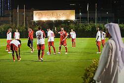 A Equipe do S.C. Internacional chega para o treino no Sultan Bin Zeied, em Abu Dhabi. O S.C. Internacional participa de 8 a 18 de dezembro do Mundial de Clubes da FIFA, em Abu Dhabi. FOTO: Jefferson Bernardes/Preview.com