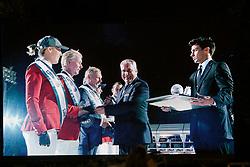 Team BEL, Wathelet Gregory, Olivier Philippaerts, Melchior Judy Ann, Lansink Jos, Patteet Gurdrun, Demeersmand Dirk<br /> Final<br /> Furusiyya FEI Nations Cup Jumping Final - Barcelona 2015<br /> © Dirk Caremans<br /> 26/09/15