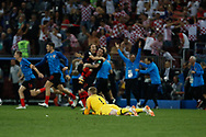 Jordan Pickford of England react after losing the 2018 FIFA World Cup Russia, semi-final football match between Croatia and England on July 11, 2018 at Luzhniki Stadium in Moscow, Russia - Photo Thiago Bernardes / FramePhoto / ProSportsImages / DPPI