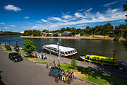 Cruise boat MV Melba on Yarra River, Melbourne, Victoria, Australia