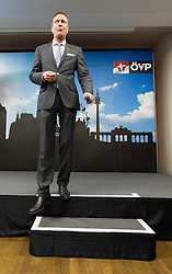11.10.2015, ÖVP Zentrale, Wien, AUT, Wien-Wahl 2015, im Bild ÖVP Spitzenkandidat Manfred Juraczka // during elcetion to the vienna city council at headquarter of the OeVP in Vienna, Austria on 2015/10/11, EXPA Pictures © 2015, PhotoCredit: EXPA/ Michael Gruber