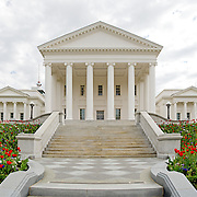 Virginia State Capitol Building in Richmond. High resolution panorama.