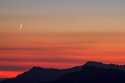 Sunset at Mt. Rainier National Park, Washington, USA