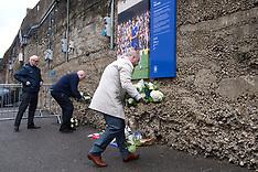 Ray Wilkins Tributes - Stamford Bridge - 4 April 2018