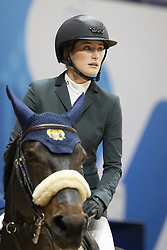 November 23, 2018 - Madrid, Spain - US horsewoman Jessica Springsteen competes during Madrid Horse Week at IFEMA in Madrid, Spain, 23 November 2018. Madrid Horse Week runs from 23 to 25 November 2018  (Credit Image: © Oscar Gonzalez/NurPhoto via ZUMA Press)
