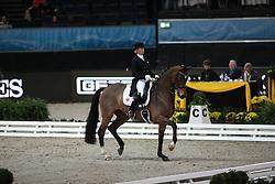 Von Bredow-Werndl Jessica, (GER), Zaire<br /> Grand Prix Special<br /> Reem Acra FEI World Cup Dressage<br /> Stuttgart - German Masters 2015<br /> © Hippo Foto - Stefan Lafrentz