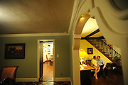 Jeff Friedman, age 40, in yellow shirt, and his partner Andrew Zwerin, age 39, are seen in their home in Rockville Centre, NY, U.S, on June 4, 2008. They have a son Joshua, age 4. A California court decision legalizing same-sex marriage that prompted New York Gov. David Paterson to issue an executive order recognizing gay nuptials performed elsewhere has sparked a matrimonial rush by gays in the Empire state. While hundreds and perhaps thousands of New Yorkers have crossed the border to marry in Canada, now those marriages, and those performed in neighboring Massachusetts and California will give them the same rights as straight couples. Friedman and Zwerin plan to wed in California in October. 6/4/2008 Photo by Jennifer S. Altman, Freelance