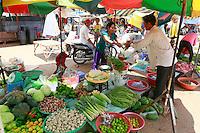 food market, Stung Treng, Cambodia