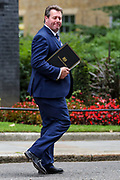 British lawmaker and Parliamentary Secretary to the Treasury (Chief Whip) Mark Spencer leaves 10 Downing Street in London ahead of the weekly session of PMQs on Wednesday, July 1, 2020. (Photo/Vudi Xhymshiti)