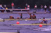 1996 Olympics Games - Atlanta – Georgia – USA<br /> Australian Oarsome Foursome.<br /> AUS M4- <br /> Stroke Mike McKay – 3 Nick Green -  2 James Tomkins  -  Bow  Drew Ginn