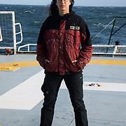 Portraits of Greenpeace crew on the Esperanza 2021
