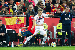 Norway's Martin Odegaard during the qualifying match for Euro 2020 on 23th March, 2019 in Valencia, Spain. Photo by Alconada/AlterPhotos/ABACAPRESS.COM