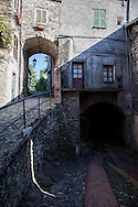Triora, il borgo delle streghe.               Triora, the village of wiches.