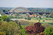 Nederland, Ubbergen, 7-5-2012Uitzicht op de Ooijpolder en de Waalbrug.Foto: Flip Franssen/Hollandse Hoogte