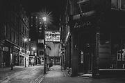 Raymond Revue Bar London Soho  district during the Pandemic of Coronavirus April 23.  2020.<br /> Copyright Ki Price