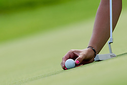 Ball and putter during golf competition in final day of International European Ladies Amateur Championship 2012, on July 28, 2012 in Smlednik at Ljubljana, Slovenia. (Photo by Matic Klansek Velej / Sportida.com)