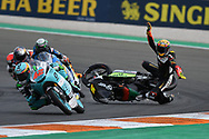 #5 Jaume MASIA SPA Bester Capital Dubai KTM crashes out of the Moto3 race during the Gran Premio Motul de la Comunitat Valenciana at Circuito Ricardo Tormo Cheste, Valencia, Spain on 17 November 2019.