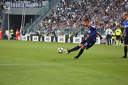 October 14, 2017 - Turin, Piedmont, Italy - Sergej MILINKOVIC-SAVIC (SS Lazio) during the Serie A football match between Juventus FC and SS Lazio at Olympic Allianz Stadium on 14 October, 2017 in Turin, Italy. (Credit Image: © Massimiliano Ferraro/NurPhoto via ZUMA Press)