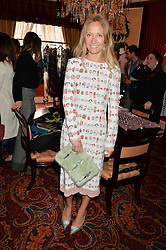 MARTHA WARD at a lunch hosted by Mary Katranzou to celebrate her LFW AW 2016 collection at Mark's Club, London on 23rd February 2016.