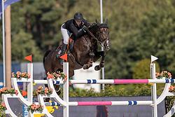 Philippe Charlotte, BEL, Cacharel de Amoranda Z<br /> Belgisch Kampioenschap Jumping  <br /> Lanaken 2020<br /> © Hippo Foto - Dirk Caremans<br /> 02/09/2020