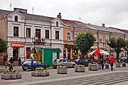 Centrum Augustowa, Polska<br /> Centre of Augustów, Poland