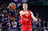 Crvena Zvezda Mts Belgrade's Nate Wolters during Turkish Airlines Euroleague match between Real Madrid and Crvena Zvezda Mts Belgrade at Wizink Center in Madrid, Spain. March 10, 2017. (ALTERPHOTOS/BorjaB.Hojas)