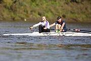 Crew: 18 - Perez-Milans / Rognoni - Bentham Boat Club - Op MasB 2x <br /> <br /> Pairs Head 2020