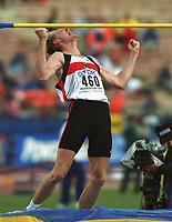 Friidrett. VM 2001 Edmonton. BUSS, Martin       Deutschland<br />      Leichtathletik   WM  2001  Hochsprung
