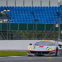 #54, Spirit of Race, Ferrari 488 GTE, driven by Thomas Flohr, Franceseco Castellacci, Miguel Molina, FIA WEC 2017 6 Hours of Silverstone, Silverstone International Circuit, 14/04/2017,
