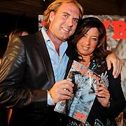 NLD/Amsterdam/20111006 - Lancering Playboy met Amanda Krabbe, samen met Rutger Castricum