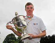 Stuart Grehan (Tullamore) after winning the East of Ireland Amateur Open Championship at Co. Louth Golf Club, Baltray on Monday 1st June 2015.<br /> Picture:  Thos Caffrey / www.golffile.ie