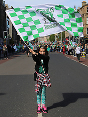 Hibs Scottish Cup Victory Parade | Edinburgh | 22 May 2016