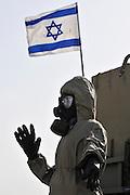 Israel, Tel Nof IAF Base, An Israeli Air force (IAF) exhibition Chemical warfare protective clothing