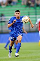 FOOTBALL - FRENCH LEAGUE CUP 2010/2011 - 1ST ROUND - ES TROYES v STADE DE REIMS - 30/07/2010 - PHOTO GUILLAUME RAMON / DPPI - MATHIEU DUHAMEL (ESTAC)