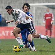 Besiktas's Ismail KOYBASI (F) during their Turkey Cup quarter final soccer match Besiktas between Gaziantepspor BSB at the Inonu stadium in Istanbul Turkey on Wednesday 02 February 2011. Photo by TURKPIX