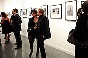 NANCY DELL D'OLIO; JEROME JACOBER, Out Of Context - private view of photographs by Lorraine Goddard. Getty Images Gallery, 46 Eastcastle Street. Afterwards at the Sanderson Hotel. 21 January 2010