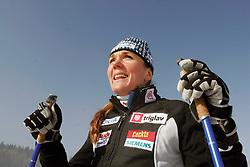 Slovenian cross-country skier Petra Majdic.  (Photo by Vid Ponikvar / Sportal Images)/ Sportida)