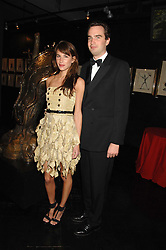 FRITZ VON WESTENHOLZ and CAROLINE SIEBER at Andy & Patti Wong's Chinese new Year party held at County Hall and Dali Universe, London on 26th January 2008.<br />