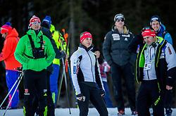 Urska Poje (SLO) during Men 12,5 km Pursuit at day 3 of IBU Biathlon World Cup 2015/16 Pokljuka, on December 19, 2015 in Rudno polje, Pokljuka, Slovenia. Photo by Vid Ponikvar / Sportida