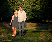 Pre-wedding photos of Sarah & John at Wollaton Park, Nottingham.