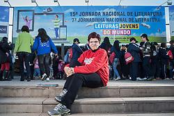 A professora, pesquisadora e coordenadora-geral da Jornada de Literatura de Passo Fundo, Tânia Rösing, durante o evento. FOTO: Jefferson Bernardes/Preview.com